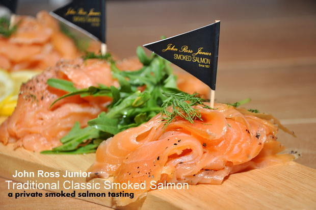 John Ross Smoked Salmon Private Tasting at The Curious Goat 3