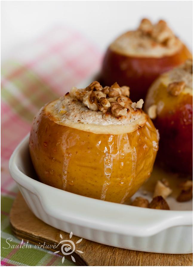 Varške įdaryti kepti obuoliai (2)
