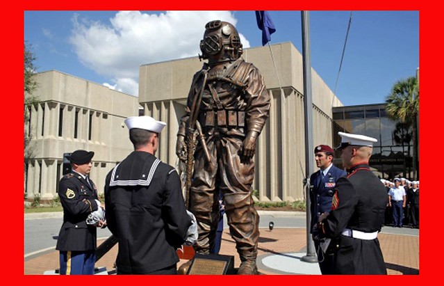 U.S. Navy DIVER Armed Forces Memorial Ceremony - Panama City, Florida/ NDSTC