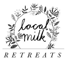 local milk retreats logo