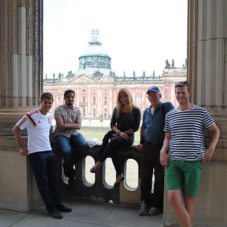 Students on World Financial Centers Program in Potsdam, Germany