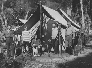 'Pioneering Surveyors' in New Zealand, 1908