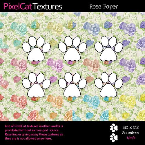 PixelCat Textures - Rose Paper