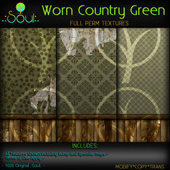 2014 Worn Country Green Textures 2