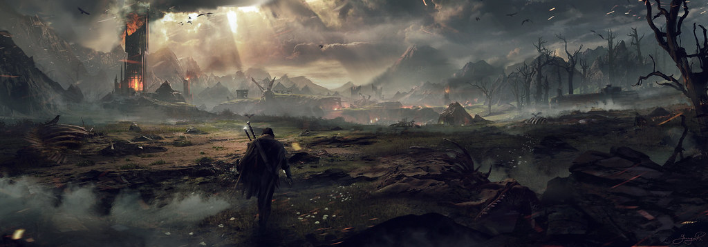 game banner middle earth shadow of mordor hd wallpaper stylish hd