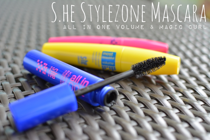 s.he stylezone all in one volume & magic curl mascara
