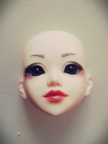 Holidays homework... My Unoa Sist like I imagined her...  Not sure about the eyes. Need eyelash ^^