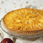 French-style apple tart (p.123)