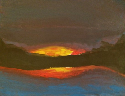 sunset fab wow painting amazing cool paint great fabulous coolpic coolcolours coolpainting acrylicsunset