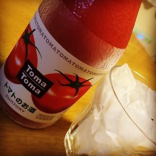 Tちゃんマンお勧めのトマトのお酒。 ヤバイくらい好き^_^