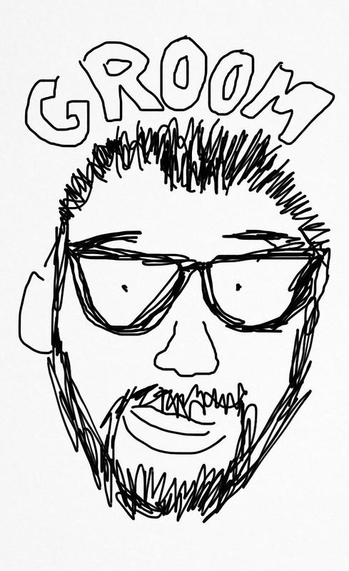 My drawing of Jim Groom. #dailycreate #tdc992