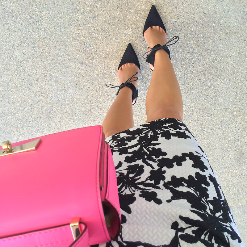 FWIS - F21 Dress and Saks Off 5th pumps