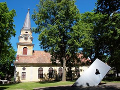 """The Memorial for the """"Estonia"""" Shipwreck and St.Catherine's Church"""
