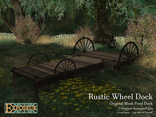 Exposeur - Rustic Wheel Dock