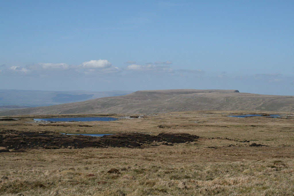 Wild Boar Fell from Baugh Fell