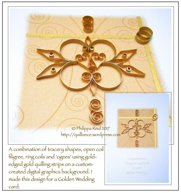 Golden Wedding design