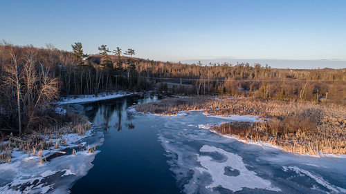 petoskey michigan unitedstates us conway crooked lake sunrise ice