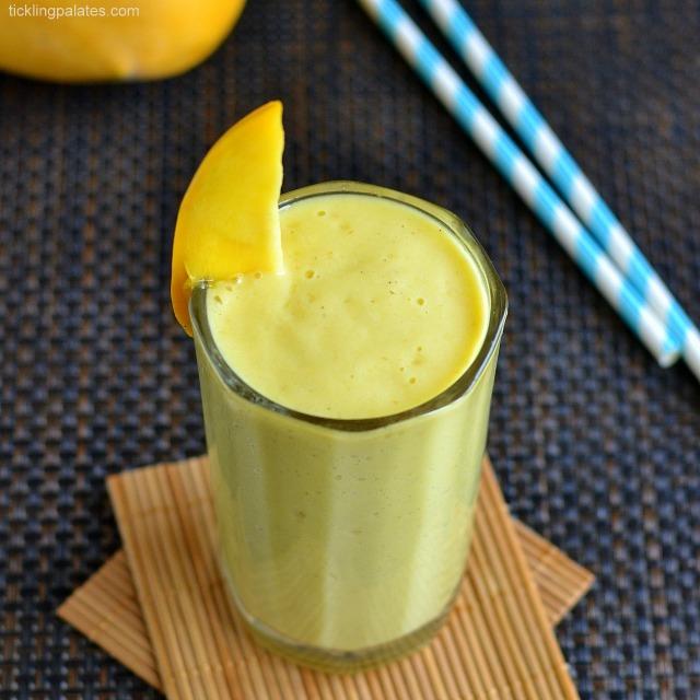 Mango-Oats-Smoothie