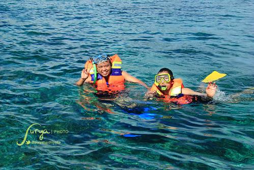 Snorkeling di Perairan Pulau Liukang Loe