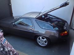 race car, automobile, automotive exterior, vehicle, performance car, porsche 928, bumper, land vehicle, sports car,