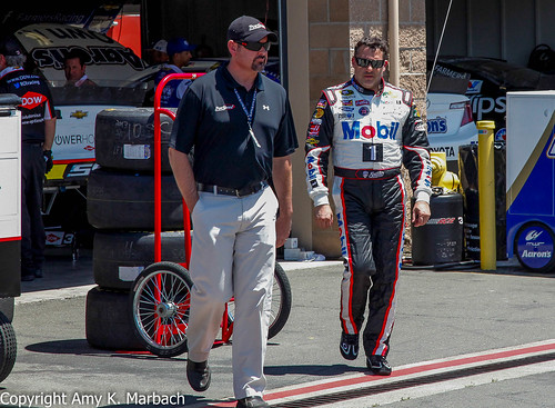 Tony Stewart and Mike Arning