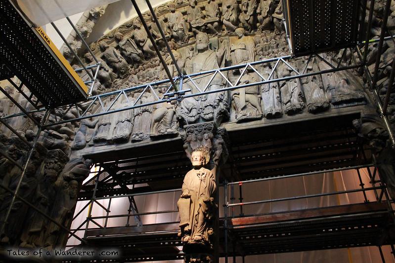SANTIAGO DE COMPOSTELA - Catedral de Santiago de Compostela - Pórtico de la Gloria