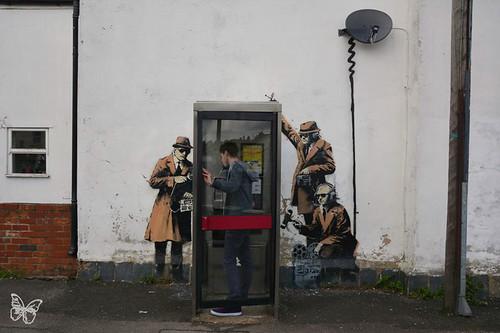 Banksy - Cheltenham