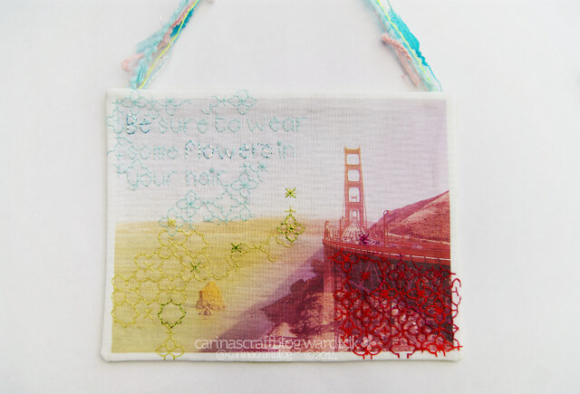 Golden Gate Bridge - blackwork swap piece