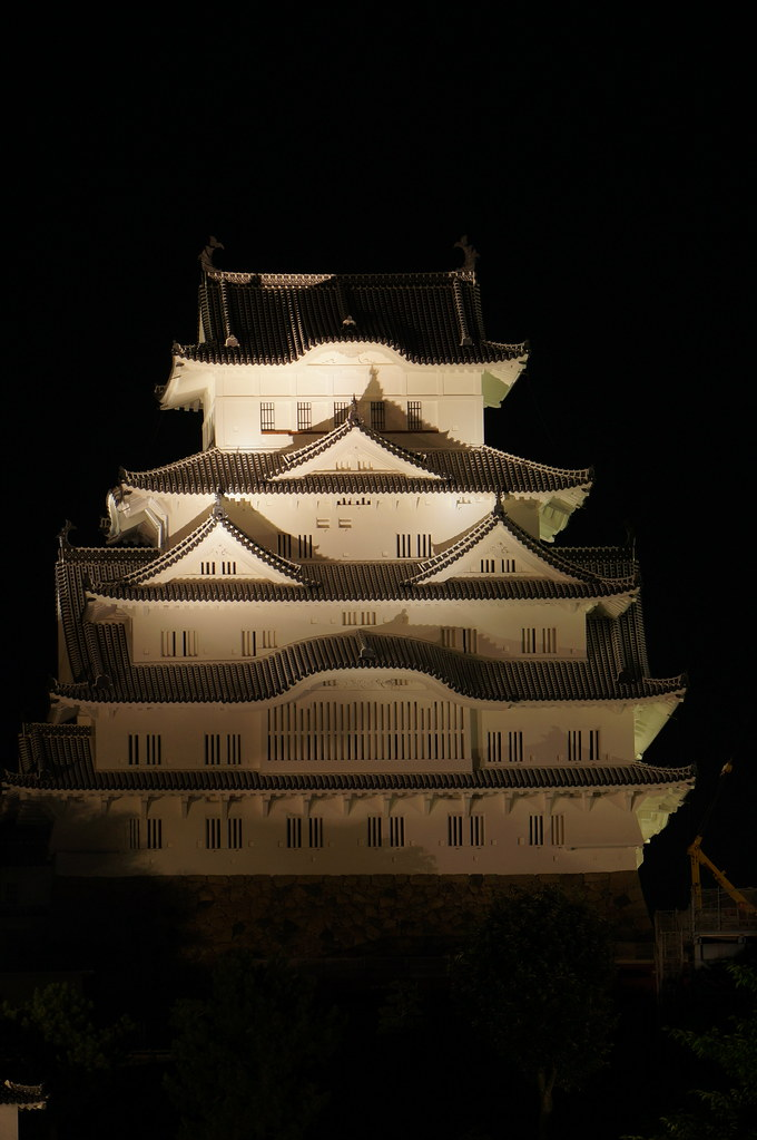 Himeji Castle at Night
