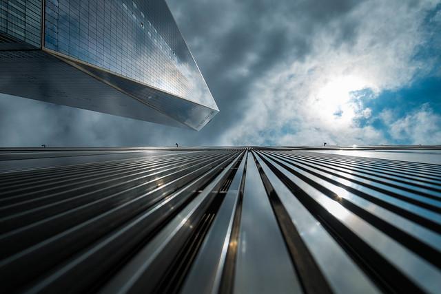 Vista del One World Trade Center. Lower Manhattan, Nueva York.