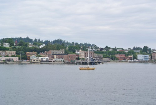 Tour 2014 day 3 - leaving Port Townsend