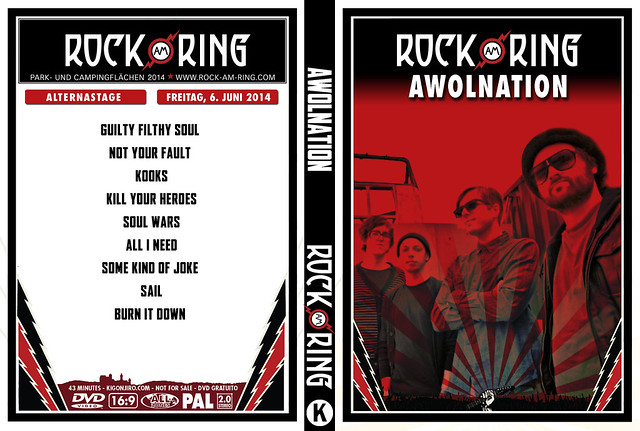 Awolnation - Rock Am Ring 2014