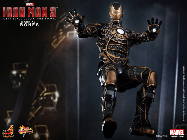 Hot Toys - Iron Man 3 - Bones (Mark XLI) Collectible Figure_PR5