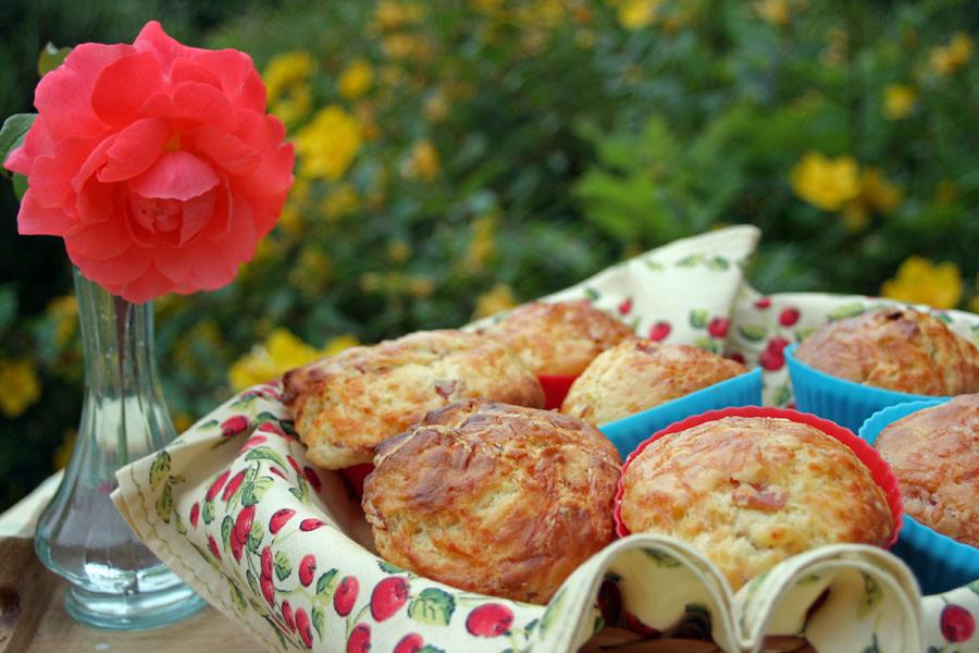 muffins au cheddar