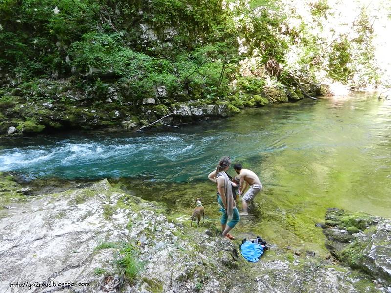 В каньоне Винтгар не купаются.