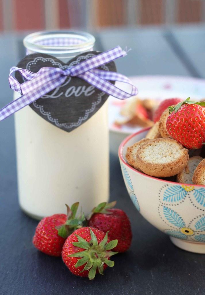 Koldskål med æg og tykmælk (11)