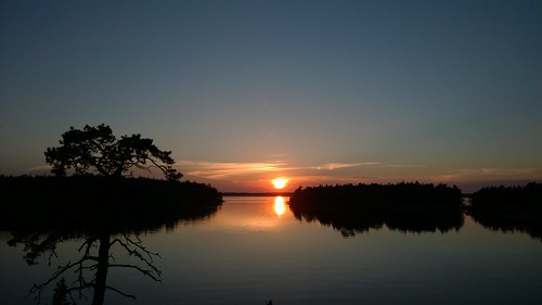 travel sunset finland archipelago 1520 lumia