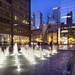 Daley Plaza at Night by rjseg1