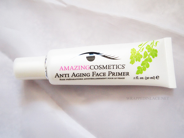 Amazing Cosmetics Anti-Aging Face Primer Review