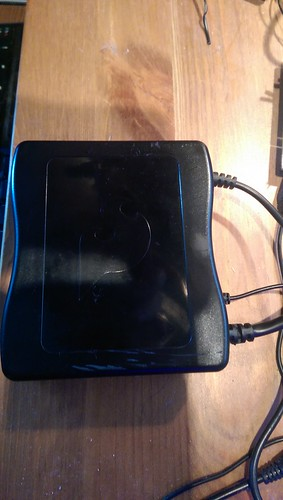 Olinuxino-imx233-maxi inside Sparkfun case