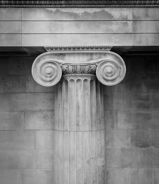 Ionic Column, British Museum