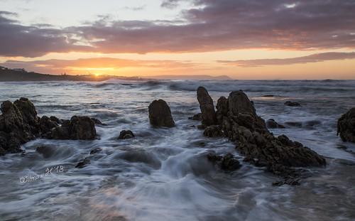 longexposure hermanus sunrise southafrica dawn rocks ngc beaches atlanticocean onrus westerncape crackofdawn coth5 elitegalleryaoi onrusstrand