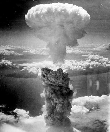 Nagasaki Bomb courtesy of The Official CTBTO/ Wikimedia Commons