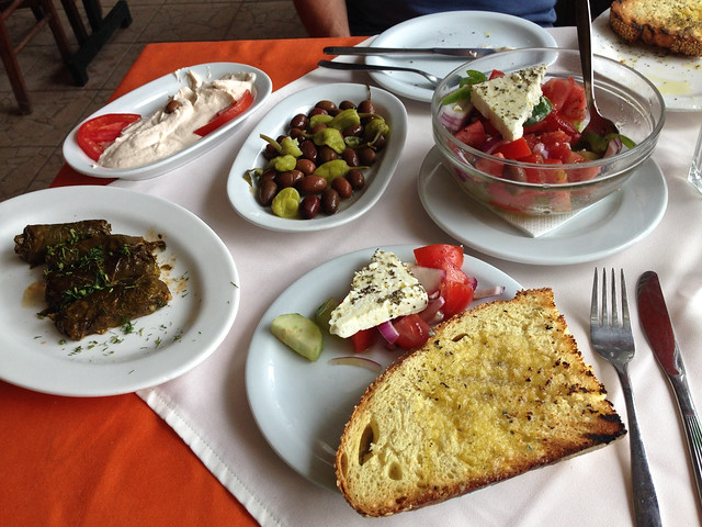 Awesome Greek Lunch