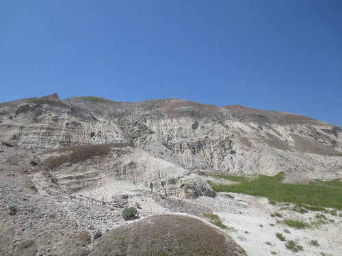 The flanks of White Butte