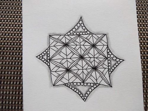 Zentangle Challenge #175