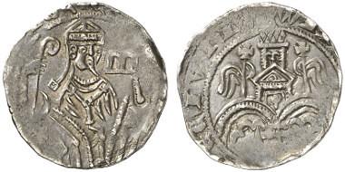 Adolf V, 1259-1296. Pfennig, Wipperfürth.
