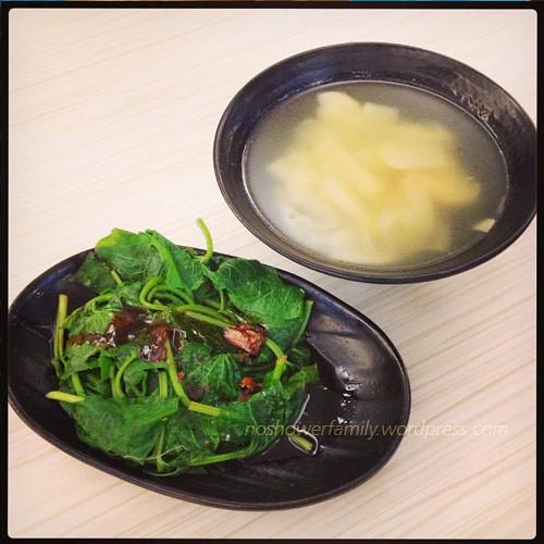 Vegetable,-Bamboo shoot soup