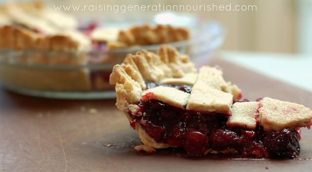 Cherry Pie :: Gluten Free, Egg Free, Nut Free