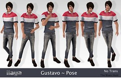 ILAYA Gustavo Vendor Pose Pack